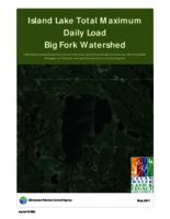 Island Lake Total Maximum Daily Load Big Fork Watershed