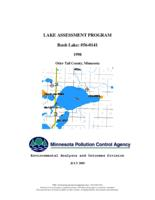 Lake Assessment Program - Rush Lake, Otter Tail County, Minnesota
