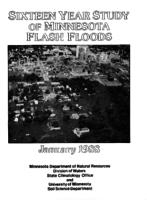 Sixteen Year Study of Minnesota Flash Floods