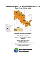 Assessment Report of Selected Lakes within the Sauk River Watershed