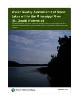 Water Quality Assessments of Select Lakes within the Mississippi River (St. Cloud) Watershed