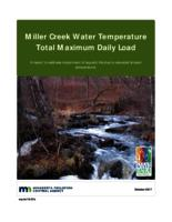 Miller Creek Water Temperature Total Maximum Daily Load