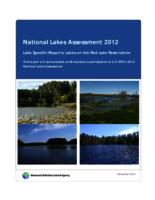 National Lakes Assessment 2012 Lake Specific Reports: Lakes on the Red Lake Reservation