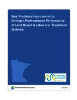 Best Practices Improvements: Nitrogen Pretreatment Performance of Land Based Wastewater Treatment Systems