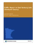 CLMP+ Report on East Sunburg Lake (Kandiyohi County)
