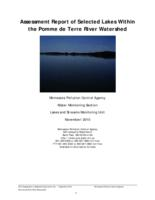 Assessment Report of Selected Lakes Within the Pomme de Terre River Watershed