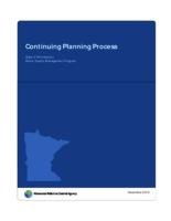Continuing Planning Process: State of Minnesota's Water Quality Management Program