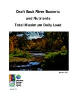 Draft Sauk River Bacteria and Nutrients Total Maximum Daily Load