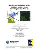 Sentinel Lake Assessment Report Red Sand Lake (18-0386) Crow Wing County, Minnesota