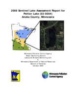 2008 Sentinel Lake Assessment Report for Peltier Lake (02-0004) Anoka County, Minnesota