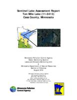 Sentinel Lake Assessment Report Ten Mile Lake (11-0413) Cass County, Minnesota