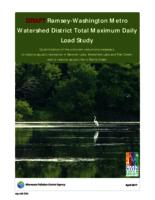 DRAFT Ramsey-Washington Metro Watershed District Total Maximum Daily Load Study
