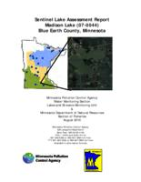Sentinel Lake Assessment Report Madison Lake (07-0044) Blue Earth County, Minnesota