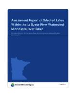 Assessment Report of Selected Lakes Within the Le Sueur River Watershed Minnesota River Basin