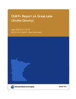 CLMP+ Report on Grass Lake (Anoka County)