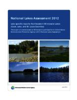 National Lakes Assessment 2012 Lake specific reports: Northeastern Minnesota Lakes (Cook, Lake, and St. Louis Counties)