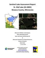 Sentinel Lake Assessment Report St. Olaf Lake (81-0003) Waseca County, Minnesota