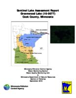 Sentinel Lake Assessment Report Greenwood Lake (16-0077) Cook County, Minnesota