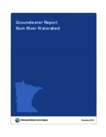 Groundwater Report Rum River Watershed