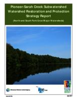Pioneer-Sarah Creek Subwatershed Watershed Restoration and Protection Strategy Report