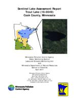 Sentinel Lake Assessment Report Trout Lake (16-0049) Cook County, Minnesota