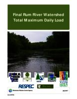 Final Rum River Watershed Total Maximum Daily Load
