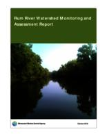 Rum River Watershed Monitoring and Assessment Report