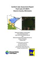 Sentinel Lake Assessment Report Pearl Lake (73-0037) Stearns County, Minnesota