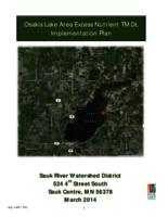 Osakis Lake Area Excess Nutrient TMDL Implementation Plan