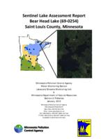 Sentinel Lake Assessment Report Bear Head Lake (69-0254) Saint Louis County, Minnesota