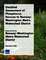 Detailed Assessment of Phosphorous Sources to Ramsey-Washington Metro Watershed District