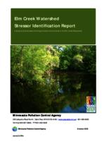 Elm Creek Watershed Stressor Identification Report