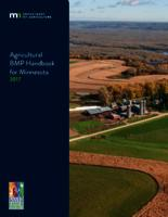 Agricultural BMP Handbook for Minnesota 2017