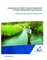 Comprehensive Water Quality Assessment of Select Metropolitan Area Streams INTRODUCTION AND METHODOLOGIES