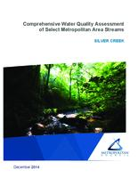 Comprehensive Water Quality Assessment of Select Metropolitan Area Streams SILVER CREEK