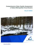 Comprehensive Water Quality Assessment of Select Metropolitan Area Streams VALLEY CREEK