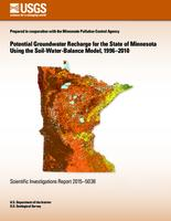 Potential Groundwater Recharge for the State of Minnesota Using the Soil-Water-Balance Model, 1996–2010