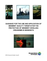 GUIDANCE FOR THE USE AND APPLICATION OF SEDIMENT QUALITY TARGETS FOR THE PROTECTION OF SEDIMENT-DWELLING ORGANISMS IN MINNESOTA