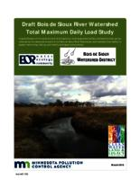 Draft Bois de Sioux River Watershed Total Maximum Daily Load Study