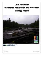 Little Fork River Watershed Restoration and Protection Strategy Report