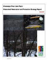 Mississippi River Lake Pepin Watershed Restoration and Protection Strategy Report
