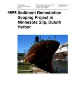 Sediment Remediation Scoping Project in  Minnesota Slip, Duluth Harbor