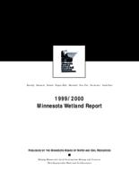 1999/2000 Minnesota Wetland Report
