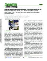 Coal-Tar-Based Pavement Sealcoat and PAHs: Implications for the Environment, Human Health, and Stormwater Management