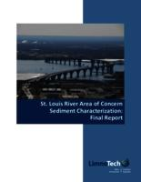 St. Louis River Area of Concern Sediment Characterization: Final Report