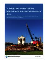 St. Louis River area of concern contaminated sediment management sites