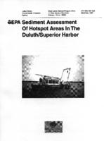 Sediment Assessment of Hotspot Areas in the Duluth/Superior Harbor