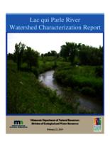 Lac qui Parle River Watershed Characterization Report