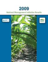 2009 Nutrient Management Initiative Results