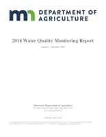2018 Water Quality Monitoring Report